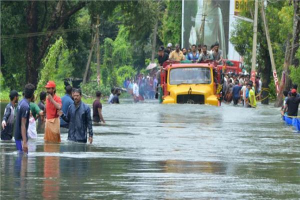 مقتل 16 شخصا في فيضانات الهند