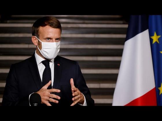 الرئيس الفرنسى يتعهد بتقديم المساعدات الطارئة إلى لبنان