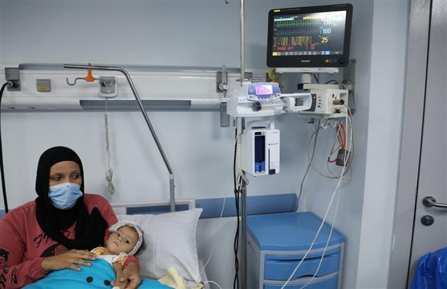 حقن ثانى طفلة بالعلاج الجيني لـ الضمور العضلي الشوكي بمستشفى معهد ناصر