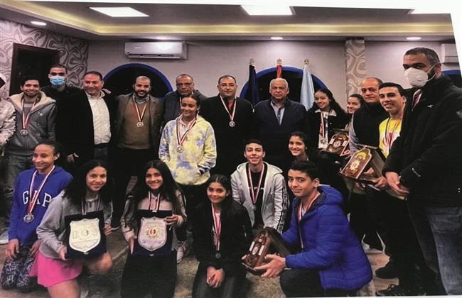 سموحة يغرد منفردًا في البطولة العربية للاسكواش