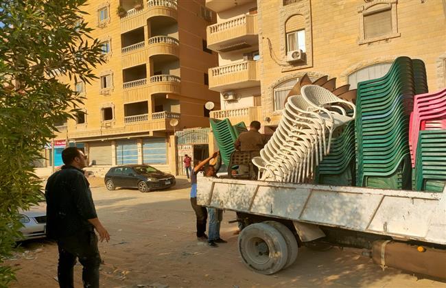 الجيزة: إيقاف ٤ حالات تحويل من سكنى لتجارى وحالة بناء مخالف