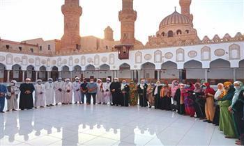 جولة لأئمة وواعظات السودان بالجامع الأزهر ومسجد الحسين