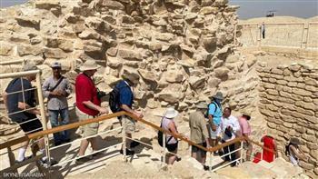 افتتاح مشروع ترميم المقبرة الجنوبية للملك «زوسر» بسقارة  فيديو