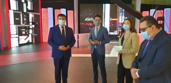 حسين زين يشارك في منتدى الإعلام الأورو آسيوى بكازاخستان