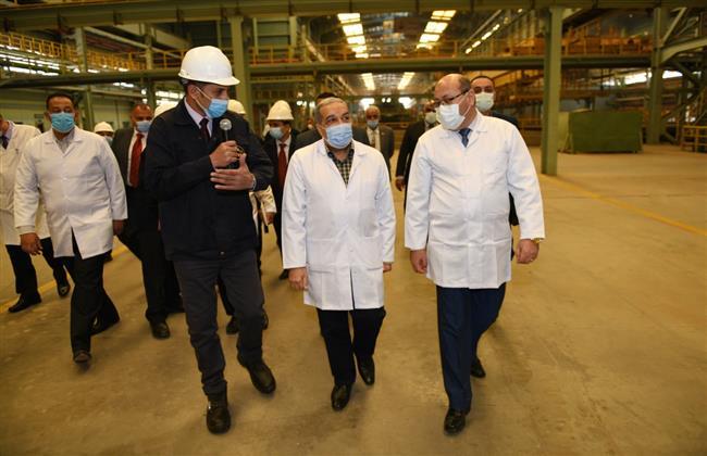 وزير الإنتاج الحربي: نسعى لتطوير خطوط الإنتاج  وفقاً لأحدث التكنولوجيات