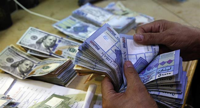 الليرة اللبنانية تواصل ارتفاعها بمعدل غير مسبوق أمام الدولار الأمريكى