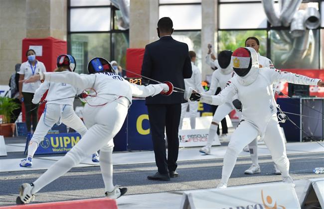 ليتوانيا والتشيك تتصدران منافسات السلاح فى بطولة «الخماسي الحديث»