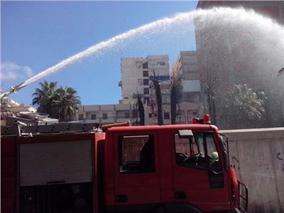السيطرة على حريق شقة سكنية في بورسعيد