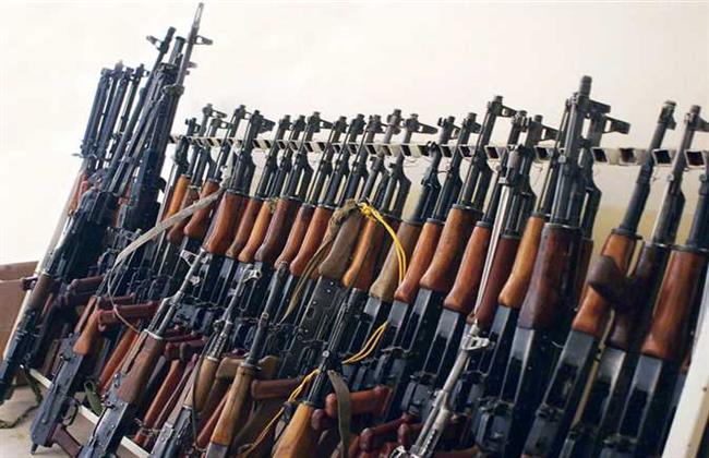 ضبط 56 سلاحا ناريا و155 قضية مخدرات فى 24 ساعة