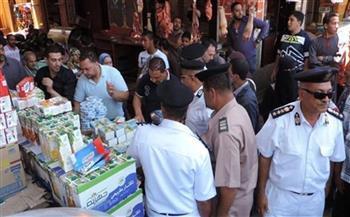 شرطة التموين تضبط 1231 قضية متنوعة فى 24 ساعة