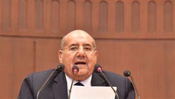 رئيس مجلس الشيوخ يستقبل رئيس البرلمان العربي