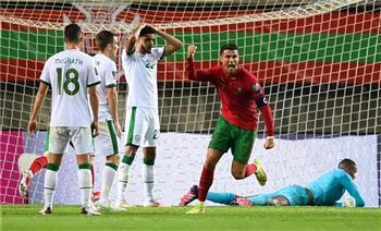 شاهد: رونالدو يضرب لاعب إيرلندا