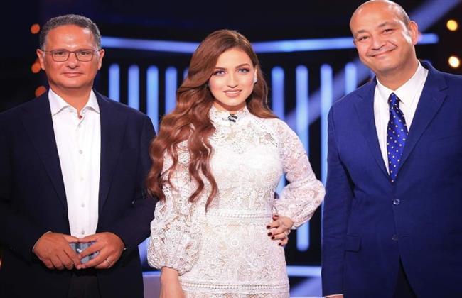 لقاء تليفزيوني يجمع عمرو أديب وشريف عامر لأول مرة