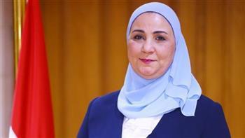وزيرة التضامن: الرئيس السيسى يطلق المشروع القومى لتنمية الأسرة المصرية قريبا