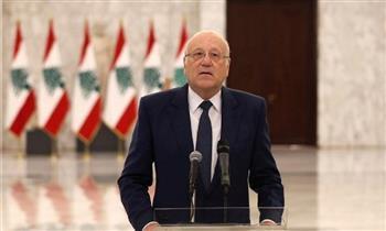 الرئيس اللبناني يطلع على نتائج زيارة ميقاتي لفرنسا