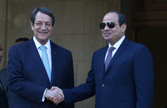 تفاصيل مباحثات مصر وقبرص بقصر الاتحادية