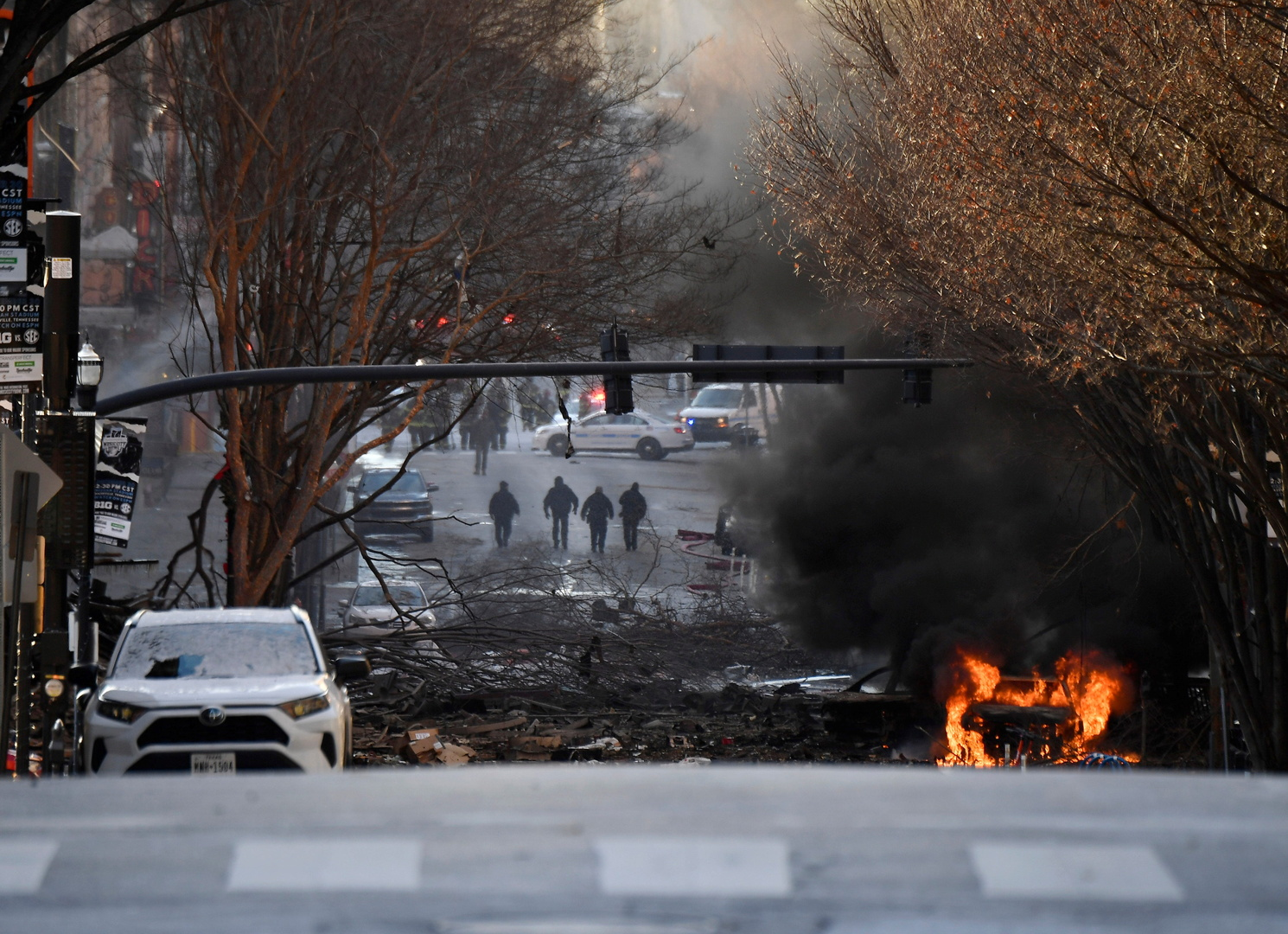 الشرطة الأمريكية تعلن اسم المشتبه به في إنفجار «ناشفيل» ودوافع الهجوم لم تعرف بعد